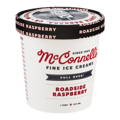 McConnell's Fine Ice Creams Roadside Raspberry