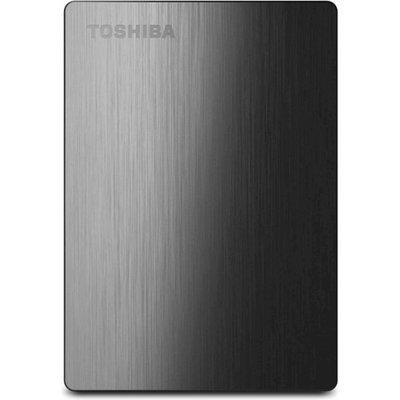 Toshiba Canvio Slim II 500GB Portable External Hard Drive, Black