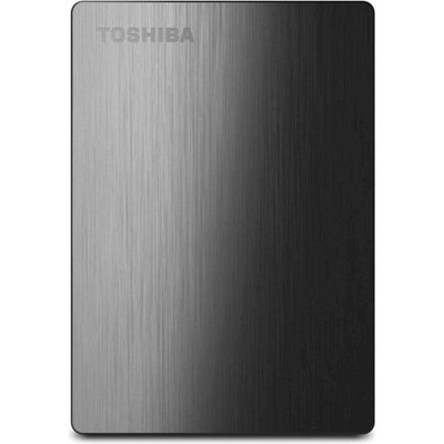 Toshiba Canvio Slim II 500GB Portable External Hard Drive, Black
