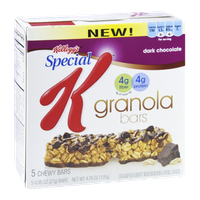 Special K® Kellogg's Dark Chocolate Granola Bars