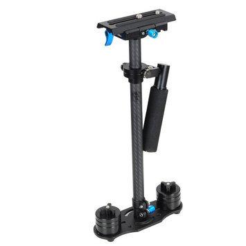 Yescomusa Oem 24 (60cm) Handheld Carbon Fiber Adjustable Camera Steady Stabilizer DSLR Video