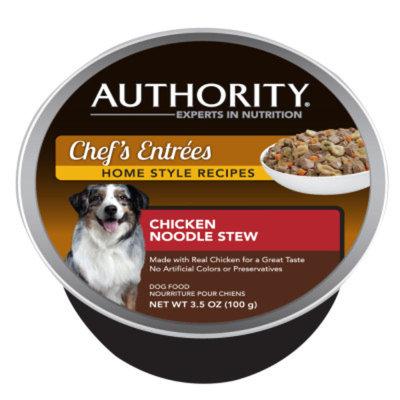 AuthorityA Chef's Entrees Dog Food