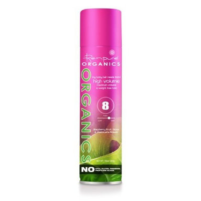 Renpure Organics My Funky Hair Needs Form! High Volume Aerosol Hairspray, 10-Ounce