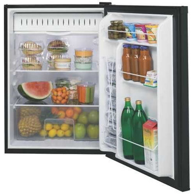 Ge 632117 Ge 5.7 Cu. Ft. Spacemaker Compact Refrigerator Black