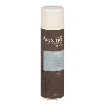 Aveeno Men's Shaving Gel Fragrance Free