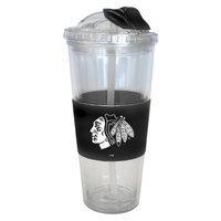 Boelter Brands NHL 2 Pack Chicago Blackhawks No Spill Straw Tumbler -