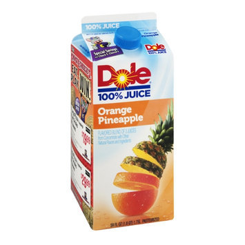 Dole 100% Juice Orange Pineapple