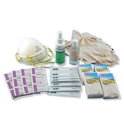 Ready America 74220 Pandemic Response Kit, Family Pack