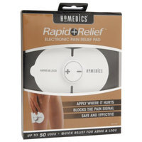 HoMedics Rapid Relief Electronic Pain Relief Pad Arms & Legs