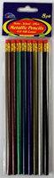DDI 1457744 Metallic Pencils num. 2 HB Lead Case Of 72