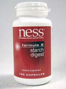 Ness Enzyme's Starch Digest #2 180 caps