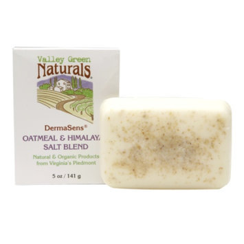 Valley Green Naturals DermaSens Soap Oatmeal & Himalayan Salt Blend, 5 oz