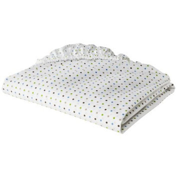 Kids Line Dot Fun Fitted Crib Sheet