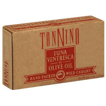 Tonnino Tuna Ventresca in Olive Oil, 4 oz, (Pack of 6)