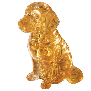 Bepuzzled 3D Crystal Puzzle - Puppy Dog: 40 Pcs