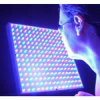 Light Therapy LED Red & Blue LED Light Therapy for Face & Neck - Anti-Aging Phototherapy 225 LEDs