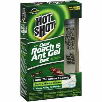 Hot Shot : Ultra Clear Roach & Ant Gel Bait Insecticide