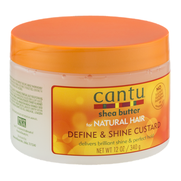 Cantu Shea Butter for Natural Hair Define & Shine Custard