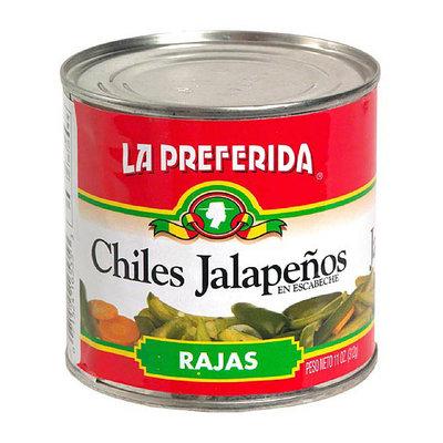 La Preferida Marinated Sliced Jalapeno Peppers