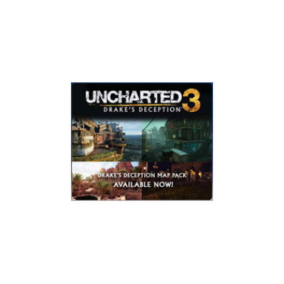 UNCHARTED 3: Drake's Deception Drake's Deception Map Pack DLC (Playstation 3)