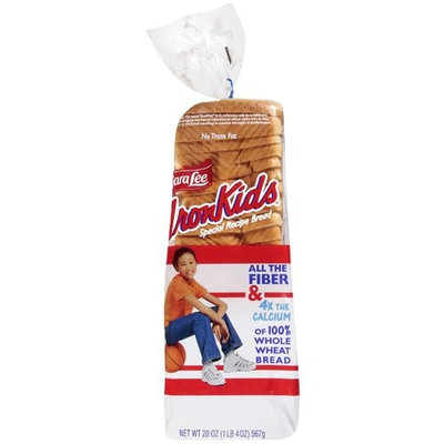 Ironkids Special Recipe For Kids White & Sliced Bread, 20 oz