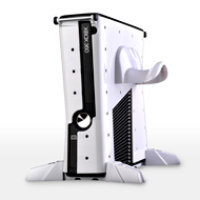 Calibur 11 Xbox 360 Slim Vault: Gundam White