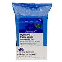derma e Hydrating Facial Wipes, 25 ea