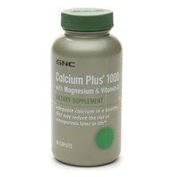 GNC Calcium Plus 1000 with Magnesium & Vitamin D