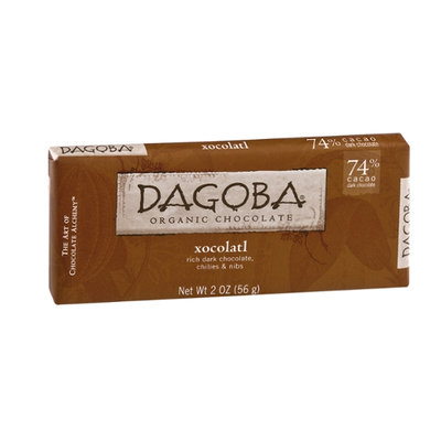 Dagoba Xocolatl Organic Rich Dark Chocolate, Chilies & Nibs