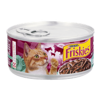 Friskies® Savory Shreds with Beef in Gravy Cat Food