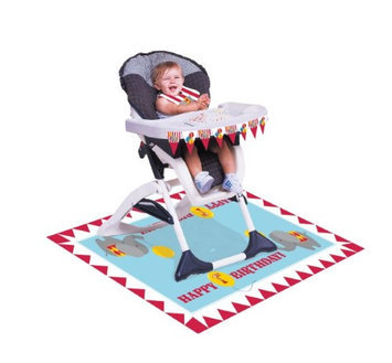 Hoffmastergroup Hoffmaster Group 195684 Circus Time High Chair Party Kit