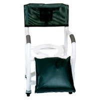 MJM International Standard Deluxe Shower Chair for Uni and Bi Lateral Amputee Individuals