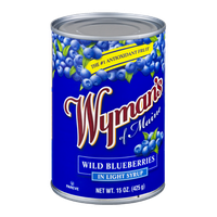 Wyman's of Maine Wild Blueberries in Light Syrup