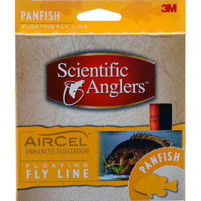 Scientific Anglers Air Cel Species Specific Fly Line, Panfish / Orange