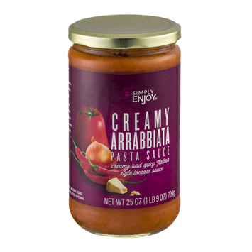 Simply Enjoy Creamy Arrabbiata Pasta Sauce