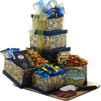Art Of Appreciation Gift Baskets Art of Appreciation The Crowd Pleaser Gourmet Food Gift Tower (Chocolate Option)