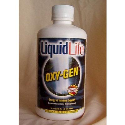 Trc Nutritional Laboratories OXY-GEN Energy & Immune Support Oxygenated Liquid Aloe Vera Supplement