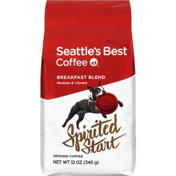 Seattle's Best Coffee Ground Coffee, Spirited Start Breakfast Blend, 12 oz