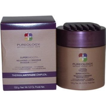 Pureology Super Smooth Relaxing Hair Masque, 5.2 Ounce