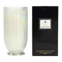 Voluspa Alta Beaded Glass Candle, Flora Di Mare, 18 oz