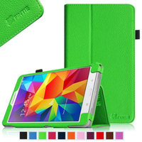 Fintie Folio Premium Vegan Leather Case Cover for Samsung Tab 4 8.0 8-Inch Tablet, Green