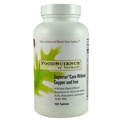 FoodScience of Vermont Superior Care Without Copper and Iron
