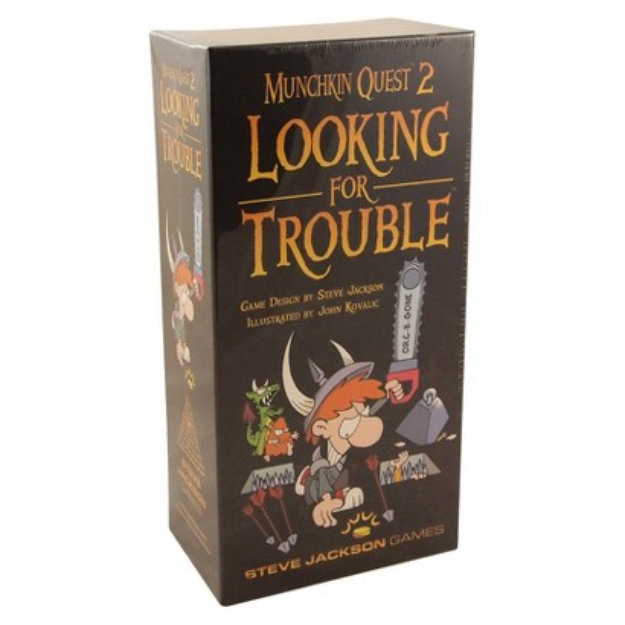 Munchkin MUNCHKIN QUEST 2 Looking for Trouble Steve Jackson Game