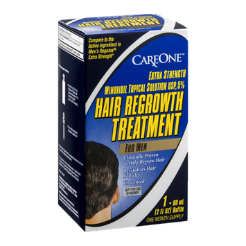CareOne Hair Regrowth Treatment For Men Extra Strength Unscented