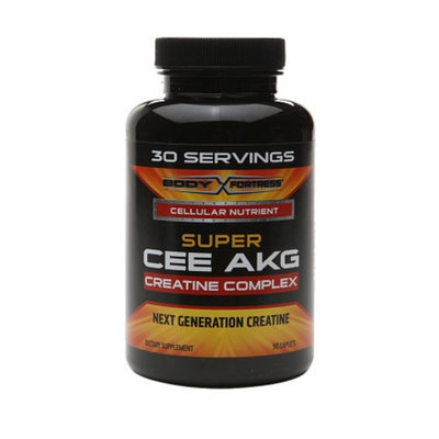 Body Fortress Super CEE AKG Creatine Complex, Caplets, 90 ea