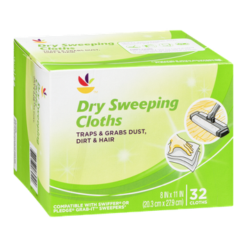 Ahold Pure Power Dry Sweeping Cloths - 32 CT
