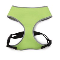 Casual Canine Nylon Reflective Neoprene Dog Harness, X-Small, Parrot Green