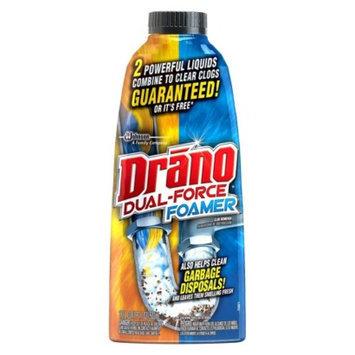 Drano Dual Force Foam Clog Remover 17 oz