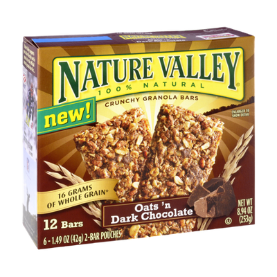 Nature Valley™ Crunchy Granola Bars Oats 'n Dark Chocolate