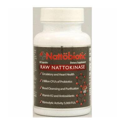 Arthur Andrew Medical Nattobiotic Raw Nattokinase 60 Capsules